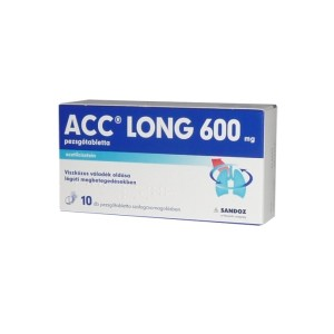 ACC Long 600 mg pezsgőtabletta (10x)