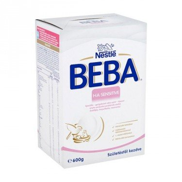 Beba H.A. Sensitive tápszer (600g)