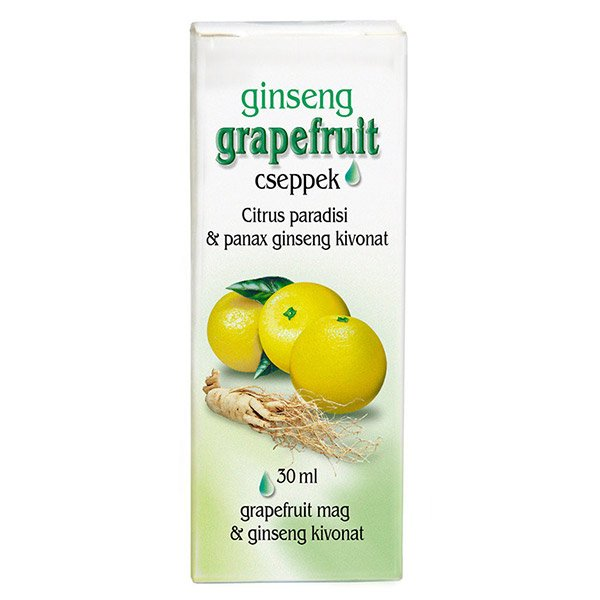 Dr. Chen Grapefruit cseppek ginsenggel (30ml)