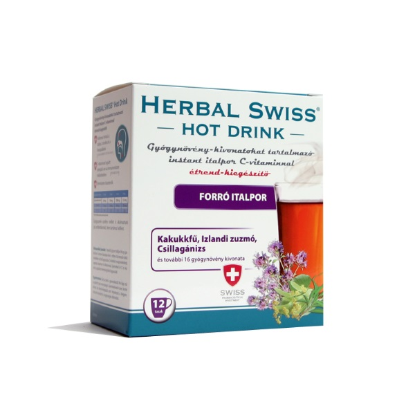 Herbal Swiss Hot Drink forró italpor (12x)