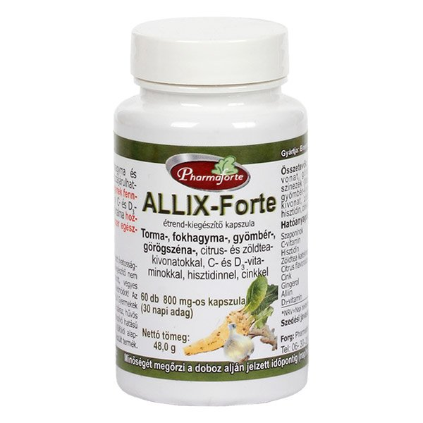 Pharmaforte Allix-Forte kapszula (60x)