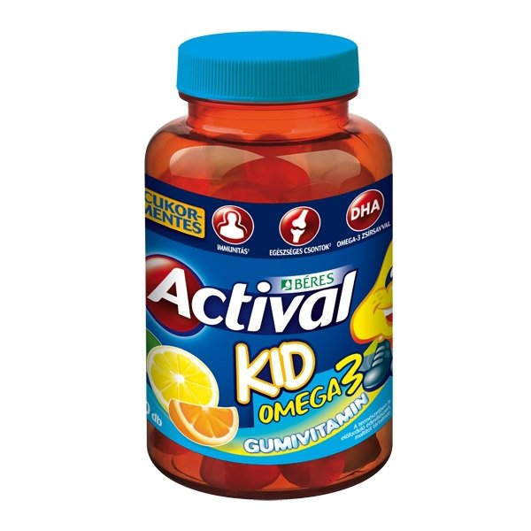 Béres Actival Kid Omega-3 Gumivitamin (30x)