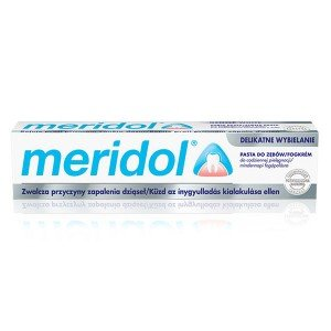 Meridol Gentle white fogkrém (75ml)