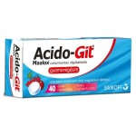 Acido-GIT Maalox cukormentes rágótabletta (40x)
