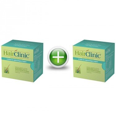 HairClinic (Hair Clinic) hajszépség kapszula (Duo Pack - 90x+30x)