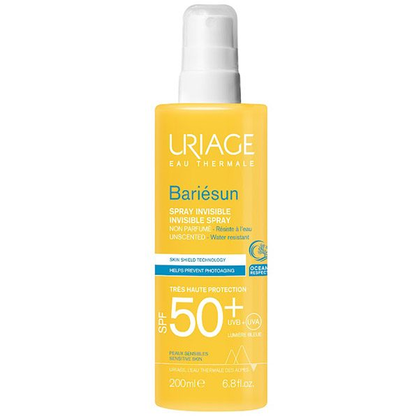 Uriage Bariésun illatmentes spray SPF 50+ (200ml)