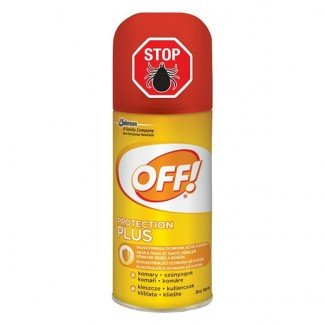 OFF! Protection Plus rovarriasztó száraz spray (100ml)