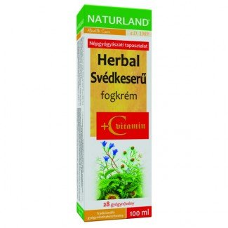 Naturland Herbal Svédkeserű fogkrém + C-vitamin (100ml)