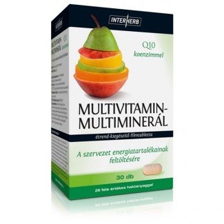 Interherb Multivitamin & multiminerál tabletta (30x)
