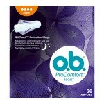 o.b. ProComfort Night Super tampon (36x)