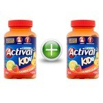 Actival Kid gumivitamin (Duo Pack - 50x+50x)